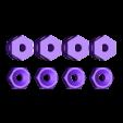 2x_noTubes.stl Télécharger fichier SCAD gratuit Quelques bribes pour le remplacement minimaliste d'Emmett du Mk8 Mk8 • Objet pour impression 3D, Wachet
