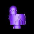 fire control centre composite.stl Télécharger fichier STL gratuit 40k Centre de contrôle de tir Big Wall Lord Titan • Modèle imprimable en 3D, The_Titan_Manifactorium