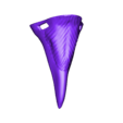Beak Nose.stl Download free STL file Halloween Animal Nose Pack! • 3D printable object, DFB93