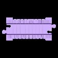 tor_prosty_elastyczny.stl Télécharger fichier STL gratuit Voie ferrée : élastique droite (pleine grandeur) • Objet imprimable en 3D, kpawel