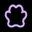foot dog.stl Télécharger fichier STL gratuit Emporte-pied chien / chat emporte-pièce • Design imprimable en 3D, ichano
