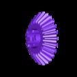 transmission_shaft_beval_gear.stl Télécharger fichier STL gratuit Transmission à engrenages coniques • Modèle à imprimer en 3D, matthewdwulff