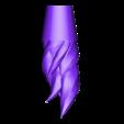 Flame_Kart.stl Télécharger fichier STL gratuit Kart CTR - Flamme • Plan imprimable en 3D, Raketentriebwerk