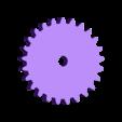 Prueba_con_engranajes_engranaje_25_dientes.stl Download free STL file Learning toy - Gear combination • 3D printer template, raulrrojas