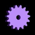 Prueba_con_engranajes_engranaje_15_dientes.stl Download free STL file Learning toy - Gear combination • 3D printer template, raulrrojas