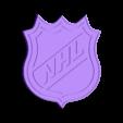 NHL logo v4.stl Télécharger fichier STL gratuit Logo LNH multicolore • Modèle imprimable en 3D, martinkralik