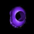 SKULLLP.stl Télécharger fichier STL gratuit ANNEAU CRÂNE BAS POLY • Objet à imprimer en 3D, shadersinc