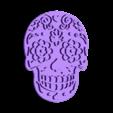 skull.stl Download free STL file Cookie cutter Mexican skull • 3D print design, ichano