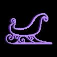 coté modifié solo.stl Download free STL file Santa's sled • 3D printable template, Motek3D