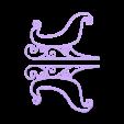 coté modifié .stl Download free STL file Santa's sled • 3D printable template, Motek3D