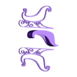 traino.stl Download free STL file Santa's sled • 3D printable template, Motek3D
