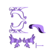 Traineau complet machine 30x30.stl Download free STL file Santa's sled • 3D printable template, Motek3D