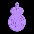 Keychain_Real_Madrid_4_Colores_ROUND_15.stl Télécharger fichier STL gratuit porte-clés véritable madrid • Plan à imprimer en 3D, astortaetom