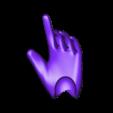 8_migite_right hand_rev1.stl Télécharger fichier STL gratuit Poupée de 52 cm 1/3 à joint magnétique, style Kasca • Design imprimable en 3D, all-kasca