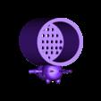 lapin.stl Download free STL file Glass for draining toothbrushes Rabbid rabbit • 3D printing design, CE_FABLAB_FREE_WORK_EXCHANGE