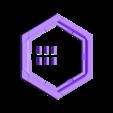 Catan_-_Base.stl Télécharger fichier STL gratuit Jeu complet de carreaux Catan - Buse simple, multicouches multicolores • Objet pour impression 3D, Hardcore3D