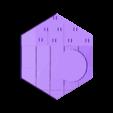 Catan_-_Wheat4.stl Télécharger fichier STL gratuit Jeu complet de carreaux Catan - Buse simple, multicouches multicolores • Objet pour impression 3D, Hardcore3D