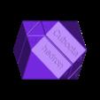 Cuboctahedron_AiO_Letters.stl Download free STL file Cuboctahedron Puzzle, Cube Puzzle • 3D printable design, LGBU