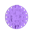 Circuit_Playground_Bluefruit.stl Download free STL file Talking Pumpkin with Lights and Sounds • 3D print model, Adafruit