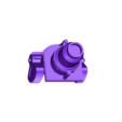 Cannon_Body_V2.stl Download free STL file Big Boom Bomb Heavy Artillery Cart • 3D print template, danny_cyanide