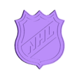nhl-logo-single-extruder.stl Télécharger fichier STL gratuit Logo LNH bicolore • Modèle imprimable en 3D, filamentone