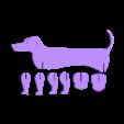 1 PERRO 6H.stl Télécharger fichier STL Chien / Saucisse Chien #ESUN3D • Modèle imprimable en 3D, dmanzano