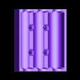 CCR10_18650_case_3S.stl Télécharger fichier STL gratuit 18650 3S Supports / Chargeurs • Objet pour imprimante 3D, alexlpr