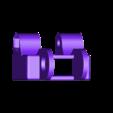 HBP_Cable_Chain_Mount_-_clamped_v4.stl Télécharger fichier STL gratuit Anet A8 Plus Y chariot en Y (HBP) montage en chaîne à câble • Plan à imprimer en 3D, 3D-Designs