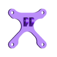 Launch_pad_tiny_bottom_65_75mm.obj Download free OBJ file Launchpad para Tinywhoop de 65 & 75mm. (2 en 1) • 3D printer design, PaulDrones