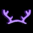 Piggy_reindeer.stl Télécharger fichier STL gratuit Piggy - Compléments de Noël • Plan à imprimer en 3D, c47