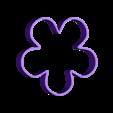 Flower_cookie_out.stl Télécharger fichier STL gratuit Coupe-biscuits à fleurs • Modèle à imprimer en 3D, c47