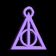 Pieza2- LLAVERO RELIQ DE LA MUERTE LPI.STL Télécharger fichier STL LA CLEF DES RELATIONS DE LA MORT - HARRY POTTER - Harry Potter • Objet imprimable en 3D, NicolasMonti