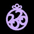 2020_2.stl Download free STL file add for Christmas tree 2020 • 3D printing model, shuranikishin