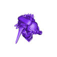 Rider_Alina.stl Download free STL file Chibi Mounted Lord Knight Alina • 3D printable object, HyperMiniatures
