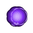 Pumpkin-JOL-Bottom.stl Télécharger fichier STL gratuit Halloween Jack-O-Lantern ! • Design imprimable en 3D, MakerMathieu