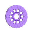 Flat_Counter_wheel-left.stl Download free STL file Flat life/score counter + keychain • 3D printing object, c47