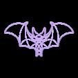 JG_bloodwars_cookie.stl Download free STL file Bloodwars bat cookie cutter • 3D print design, c47