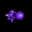 """BlobCrowd03-BCP_MINI06_C.stl Télécharger fichier STL gratuit Installation de table : """"Blob Crowd Plant 3 Minis Set"""" (Végétation extraterrestre 16) • Objet pour imprimante 3D, GrimGreeble"""