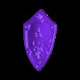 shild.stl Télécharger fichier STL gratuit La légende de Zelda : Link Awakening • Objet imprimable en 3D, RodrigoMoraes
