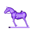 mk3_aus_huss_horse2_split_b_1.stl Télécharger fichier STL gratuit Napoléonique - Partie 20 - Hussards autrichiens • Design pour impression 3D, Earsling