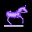 mk3_aus_huss_horse1_split_b_1.stl Télécharger fichier STL gratuit Napoléonique - Partie 20 - Hussards autrichiens • Design pour impression 3D, Earsling