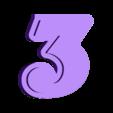 Wall Clock_3.stl Download free STL file Numbers for Bird wall clock • 3D printable design, MAyobe