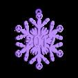 Sonic_Screwdriver_Snowflake_-_2017.stl Télécharger fichier STL gratuit Tournevis sonique Snowflake - Doctor Who • Modèle à imprimer en 3D, Sablebadger