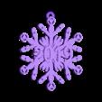 sonic_screwdriver_snowflake_-_2019.stl Télécharger fichier STL gratuit Tournevis sonique Snowflake - Doctor Who • Modèle à imprimer en 3D, Sablebadger
