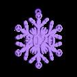 sonic_screwdriver_snowflake_-_2020.stl Télécharger fichier STL gratuit Tournevis sonique Snowflake - Doctor Who • Modèle à imprimer en 3D, Sablebadger
