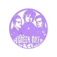 green day.stl Download free STL file GREEN DAY WATCH • 3D print template, 3dlito