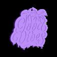 good vibes.stl Télécharger fichier STL gratuit Bons Vibes Bons Vibes Bons Vibes • Modèle pour imprimante 3D, romerogagustin