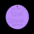 fast times.stl Télécharger fichier STL gratuit Temps rapide • Objet imprimable en 3D, romerogagustin