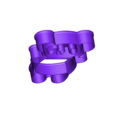 Overview1.stl Download free STL file Full Panda Cookie Cutter • 3D printer object, kasinatorhh