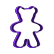 Christmass_cookie_teddy.stl Download free STL file Christmas cookie cutters • 3D printable object, c47